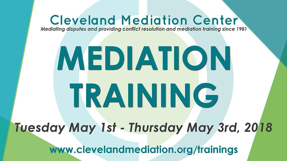 CMC Mediation Training 2018