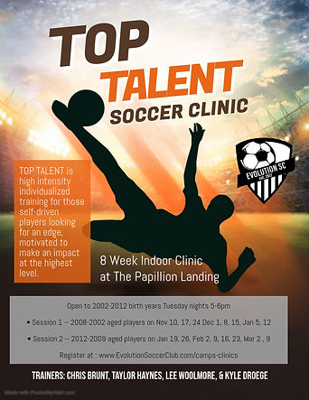 Copy of Soccer Tournament Event Flyer -