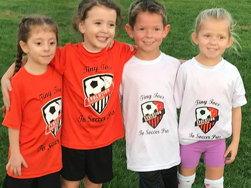 Evolution SC Tiny Toes League Jersey Package