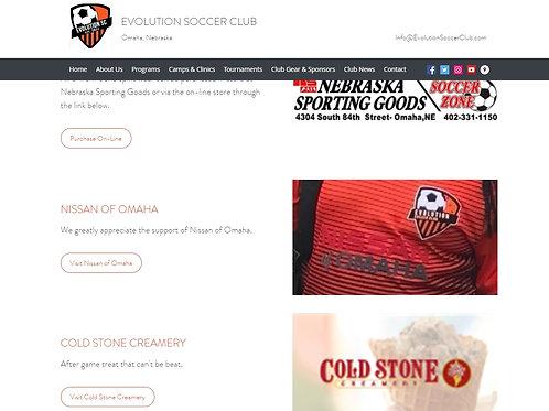 Website Sponsor with Link