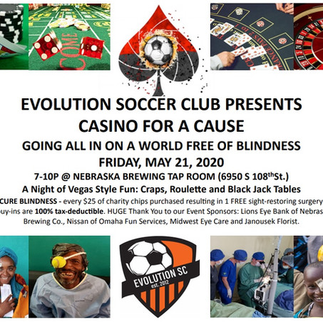 Soccer For Sight Initiative May 21st