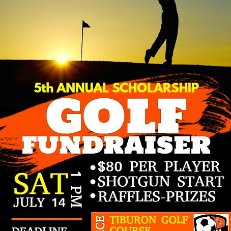 Golf Fundraiser July 14th