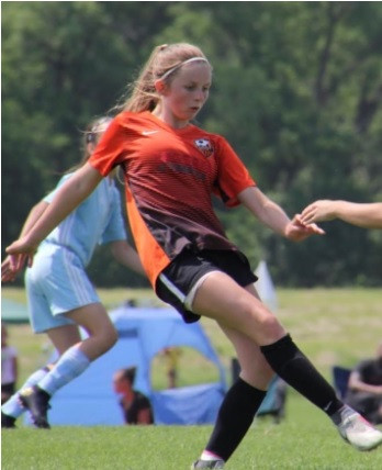 EVO Edge Sienna Davis makes ODP Regional Team Selection