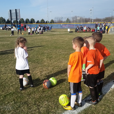 Awesome Weather = Soccer Fun