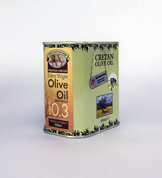 500ml Canister Extra Virgin Olive Oil