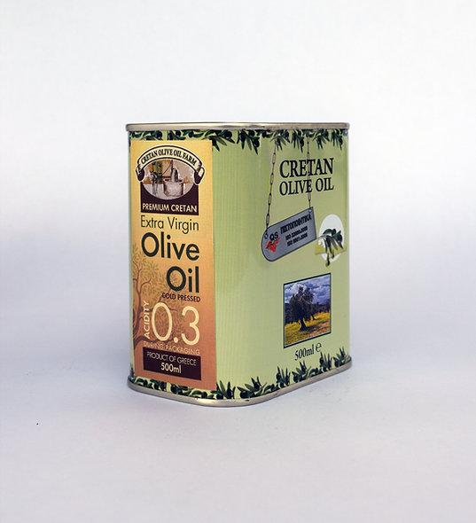 500ml Bidon Huile d'Olive Extra Vierge