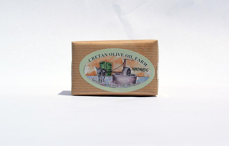 Handmade Natural Olive Oil Soap e100gr