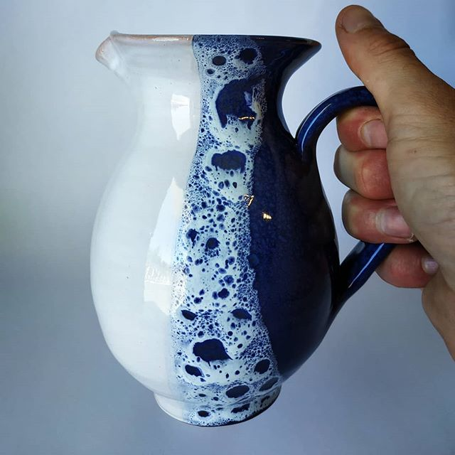 Handmade wine pitcher🍇 This one holds 5