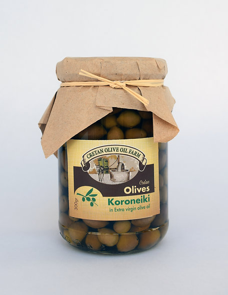 "Black ""Koroneiki"" Olives 300gr"