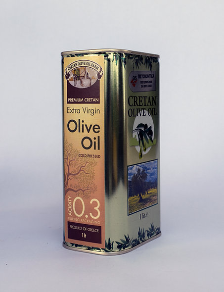 1lt Canister Extra Virgin Olive Oil