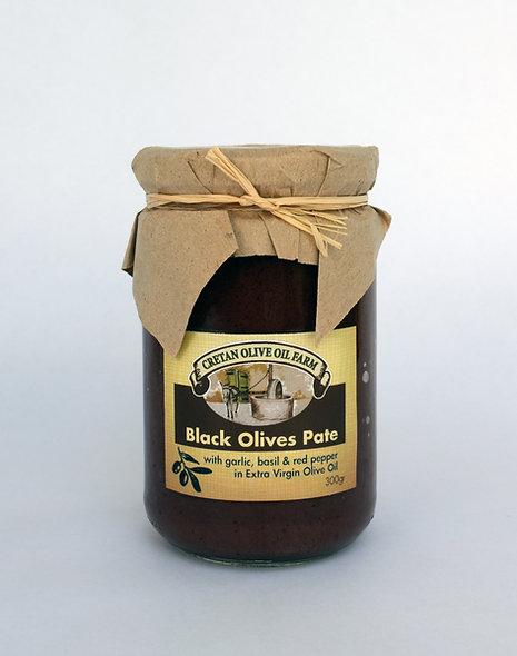 Schwarz Olivenpaste 300gr