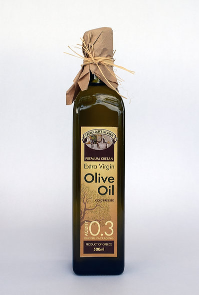 500ml Bottle Extra Virgin Olive Oil