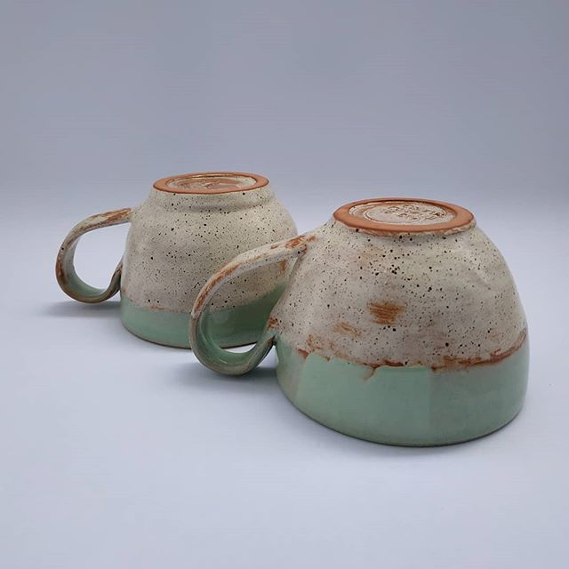 Handmade coffee mugs . .