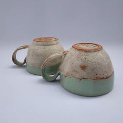 Handmade coffee mugs . .
