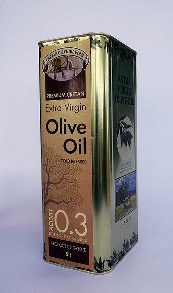 5lt Canister Extra Virgin Olive Oil
