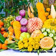 Fruit Sculpture Art