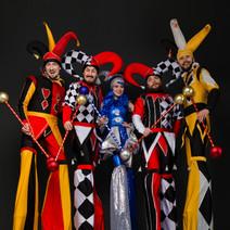 Jokers Stilt Parade