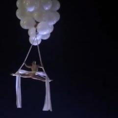 Hellium Baloon Aerial Act