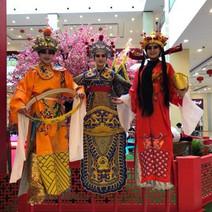 Chinese Stilt Parade