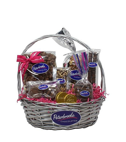 Sweet Treasures Chocolate Gift Basket