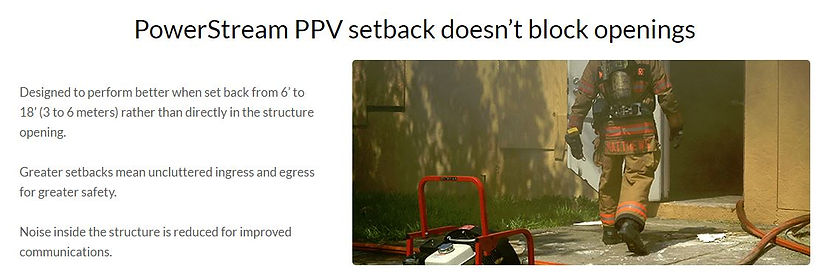 RAMFAN Powerstream PPV setback illustration