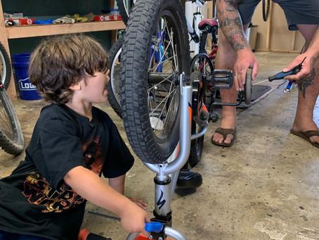 Sometimes a bike mechanic needs to give his own bike some love