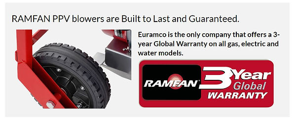 RAMFAN 3 Year Global Guarantee