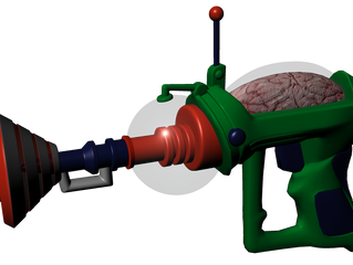 Mars Attacks Ray Gun Replicas