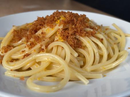 3 Italian Recipes Using Bread Crumbs | Citrus Pasta, Italian Swiss Chard & Passatelli