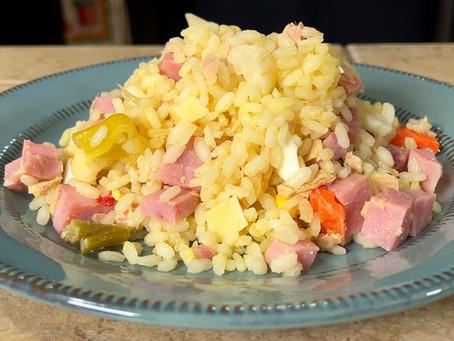 Insalata di Riso | Cold Italian Rice Salad Recipe