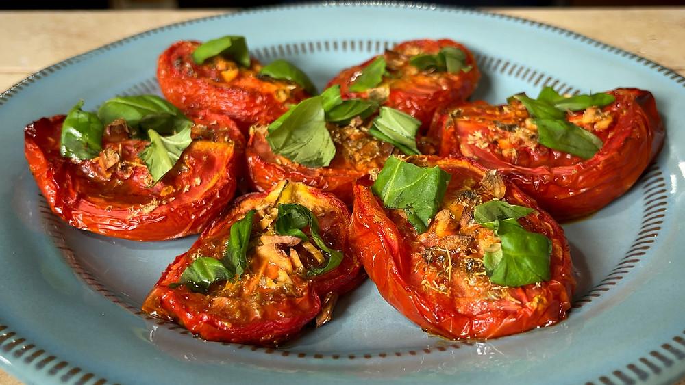 pomodori-arrosto-recipe-baked-roasted-tomato-es-italian-authentic-food-side-dish-easy