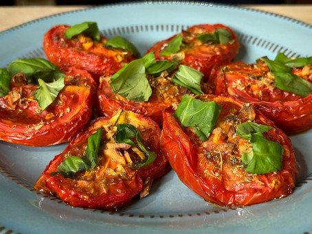 Pomodori Arrosto | Italian Baked Tomato Recipe