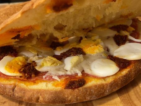 Pitta Lorda | Italian Stuffed Bread Recipe