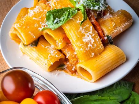 Pasta allo Sacarpariello | Simple Italian Cherry Tomato Pasta Recipe
