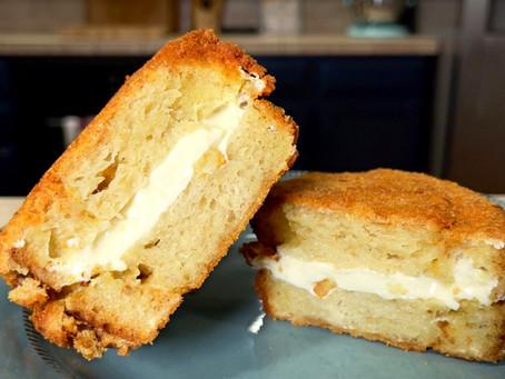 Mozzarella in Carrozza | Italian Fried Cheese Panino Recipe