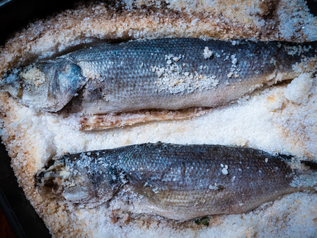 Salt-Crusted Fish Recipe | Authentic Italian Spigola al Sale