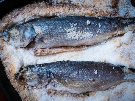 Salt-Crusted Fish Recipe   Authentic Italian Spigola al Sale