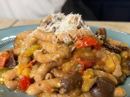 Pasta cu i Cucunci | Sicilian Vegetable Pasta