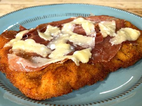 Cotoletta alla Bolognese | Italian Veal Cutlet Recipe