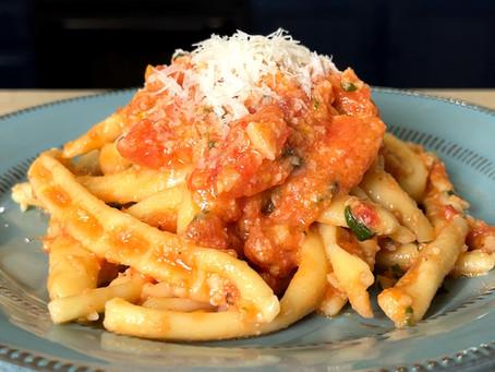 Gnocchuli Cavati | Sicilian Pasta Recipe
