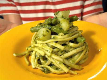 Trenette al Pesto | Authentic Italian Pesto Recipe