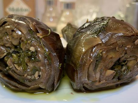 Carciofi Alla Romana | Roman Artichoke Recipe