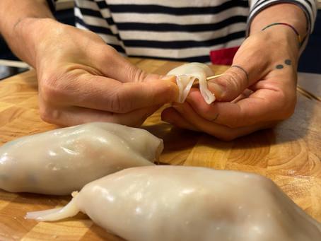 Calamari Ripieni | Italian Stuffed Calamari Recipe