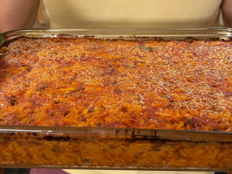 Risu D'Azata | Italian Stuffed Rice Casserole Recipe