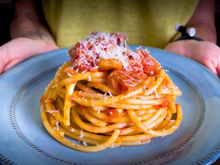 Bucatini all'Amatriciana | Authentic Italian Recipe