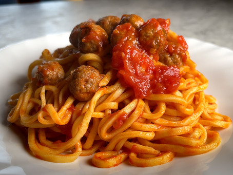 Authentic Italian Spaghetti & Meatballs Recipe | Yes, You Heard That Right...