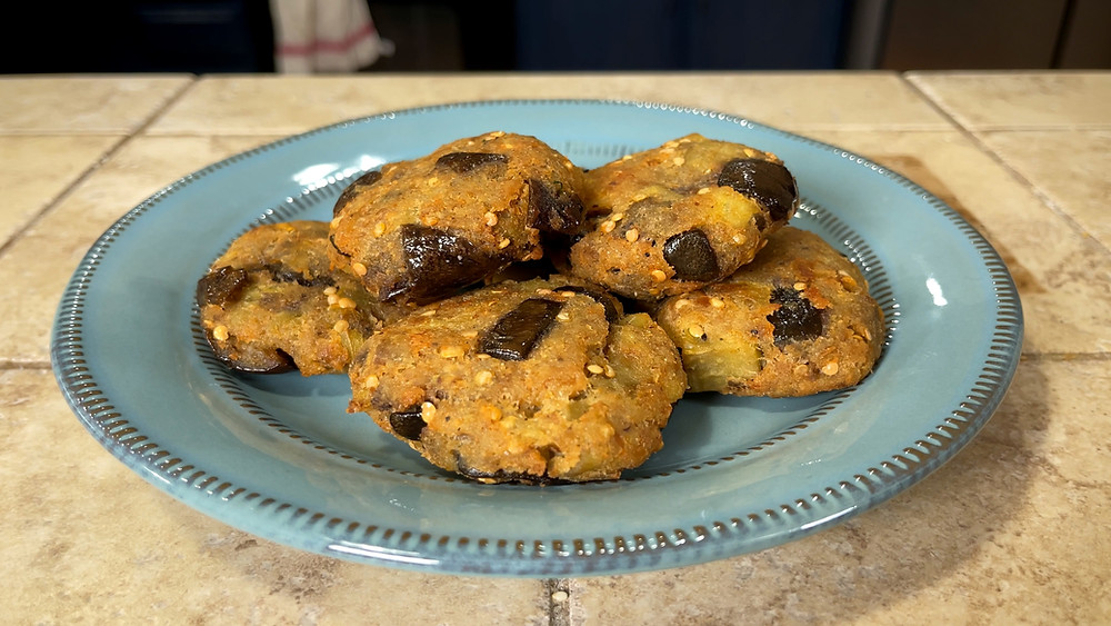 best-vegetarian-meatball-recipe-eggplant-vegetable-plant-based-italian-real-authentic-recipe