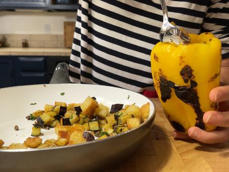 Puparuolo 'Mbuttunat | Italian Stuffed Pepper Recipe