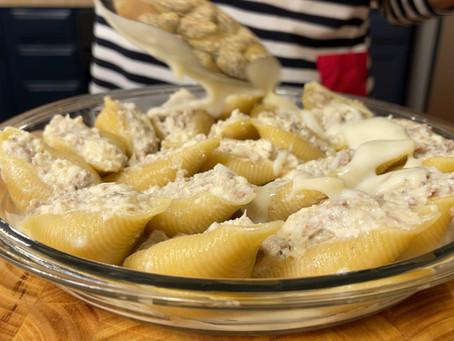 Conchiglioni Ripieni alla Campana | Italian Stuffed Pasta Shells Recipe