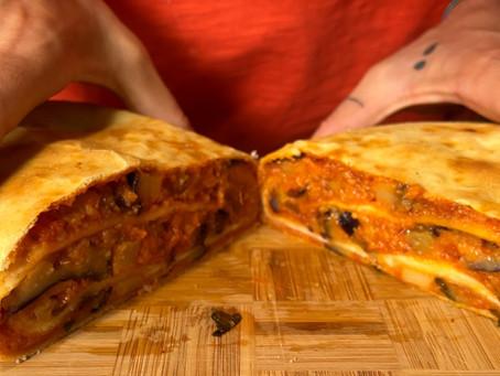 Scacciata Ragusana | Italian Folded Pizza Recipe